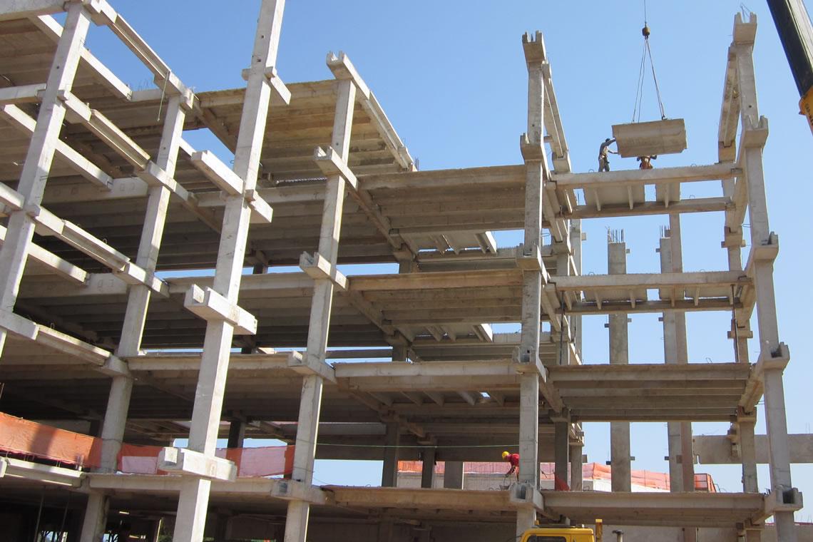 Teicon - Pré-Moldados Com Tecnologia   Obras Concluídas - Hospital Municipal Oeste